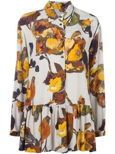 плиссированная рубашка с цветочным принтом I'M Isola Marras