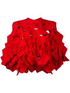 блузка с панелями 3D Junya Watanabe Comme Des Garçons
