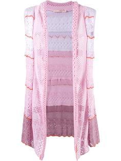 knit waistcoat Cecilia Prado