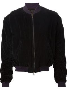 драпированная куртка-бомбер Haider Ackermann