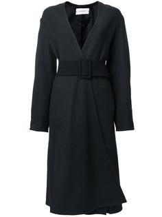 belted single breasted coat Lemaire