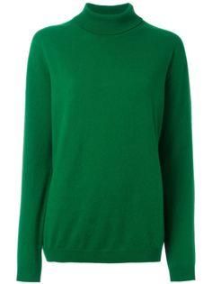 свитер с воротником с отворотом Jil Sander