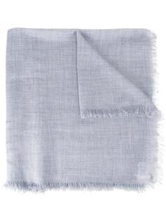 шарф с необработанными краями Cruciani
