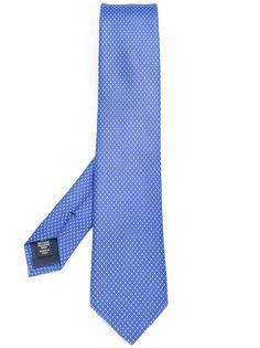 галстук с мозаичным узором Ermenegildo Zegna