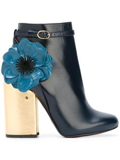 flower ankle boots  Laurence Dacade