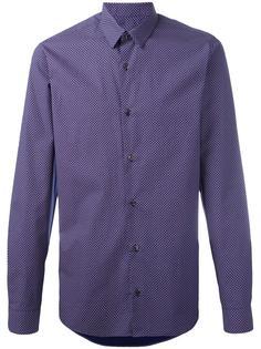 рубашка с узором из точек Z Zegna