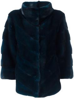 меховая куртка с укороченными рукавами Yves Salomon