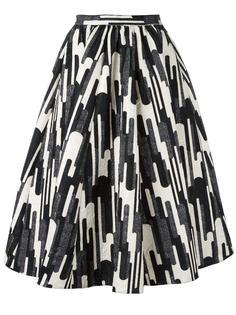 широка юбка средней длины Blugirl