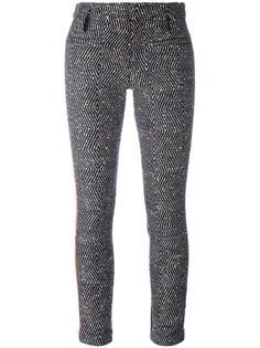 glitter effect skinny trousers Haider Ackermann