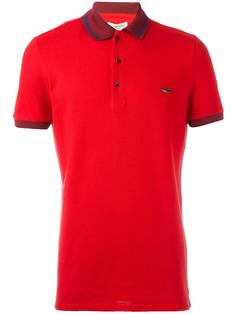 футболка-поло с контрастной окантовкой Burberry