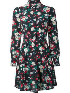 floral print shirt dress Ines De La Fressange