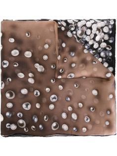 pearl print scarf Elie Saab