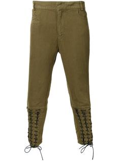 брюки со шнуровкой Haider Ackermann