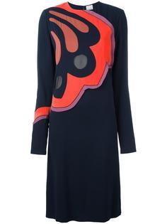 платье с контрастным принтом спереди Paul Smith