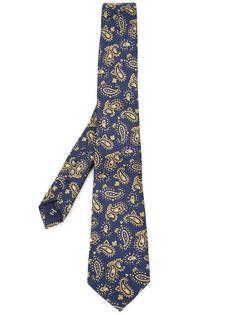 галстук с принтом пейсли Fefè