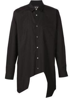 рубашка с асимметричным подолом Comme Des Garçons Homme Plus