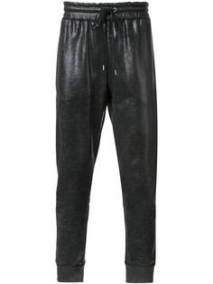 спортивные брюки с вощеным покрытием Miharayasuhiro