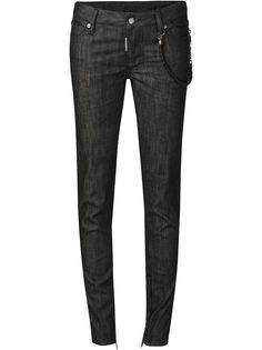 джинсы средней посадки кроя скинни Dsquared2