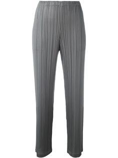 плиссированные укороченные брюки Pleats Please By Issey Miyake