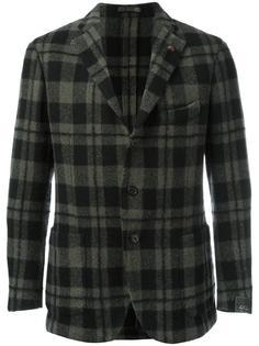 клетчатый пиджак Gabriele Pasini