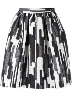 мини юбка с принтом Blugirl