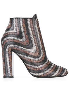 ботинки по щиколотку Salvatore Ferragamo