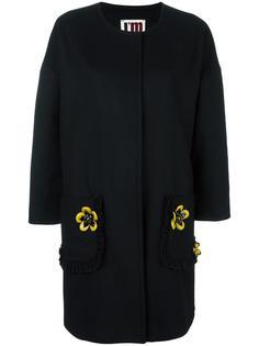 пальто с цветочной аппликацией I'M Isola Marras