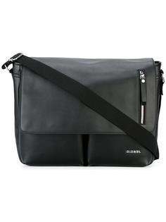 классическая сумка-почтальонка Diesel