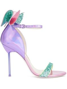 glitter effect bow sandals Sophia Webster