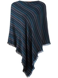 round neck knit poncho Missoni