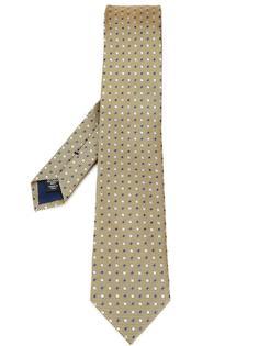 галстук с узором в точку Ermenegildo Zegna