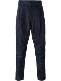 брюки с заниженной шаговой линией  Sacai