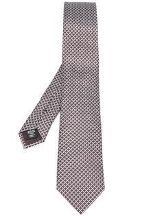 галстук с узором из веревок Ermenegildo Zegna