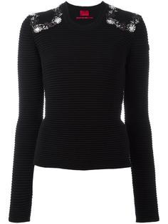 embellished shoulder jumper Moncler Gamme Rouge