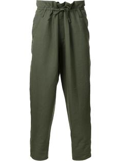 брюки с заниженным шаговым швом Haider Ackermann