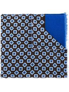 жаккардовый шарф с необработанными краями Corneliani