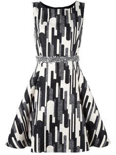 короткое платье с принтом Blugirl