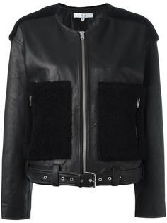 укороченная куртка с контрастными панелями Iro