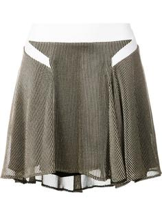 pleated asymmetric skirt Esteban Cortazar
