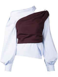 asymmetric blouse Jacquemus