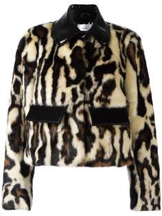 укороченная куртка с животным принтом Carven