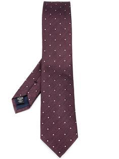галстук с цветочным узором Ermenegildo Zegna