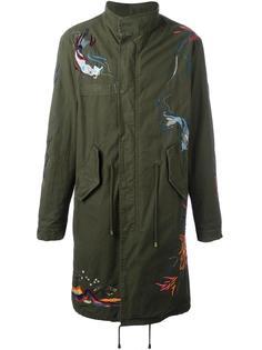 пальто в стиле милитари  Amen