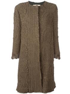 пальто с рукавами три четверти By Walid