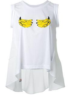 топ с принтом бананов Muveil
