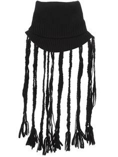 шарф-воротник с бахромой Yohji Yamamoto