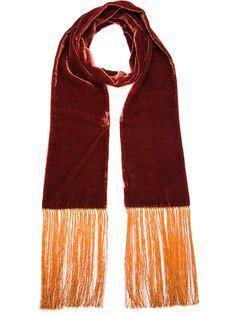 шарф с контрастной отделкой  Haider Ackermann