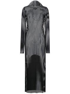 вязаное платье в рубчик Robert Wun