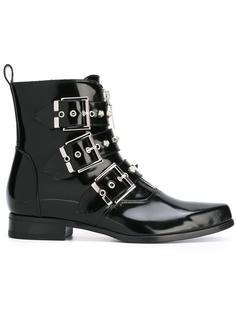 ботинки с пряжками Alexander McQueen