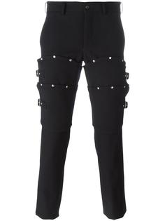 брюки с заклепками Comme Des Garçons Homme Plus